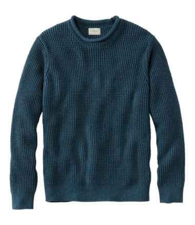 Men's L.L.Bean Organic Cotton Rollneck Crew Sweater