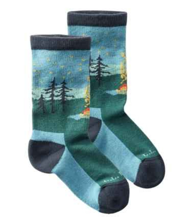 Kids' L.L.Bean Campside Socks