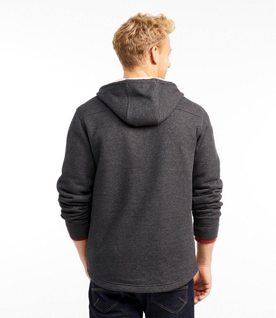 Men's Katahdin Iron Works Bonded Waffle Fleece, Hooded Sweatshirt