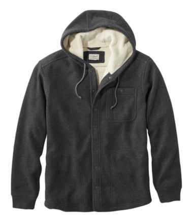 Katahdin Iron Works Bonded Waffle Fleece, Hooded Sweatshirt