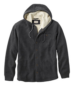 Men's Katahdin Iron Works Bonded Waffle Fleece, Hooded Sweatshirt Regular