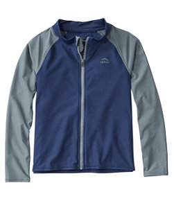 Kids' Sun-and-Surf Shirt, Full-Zip