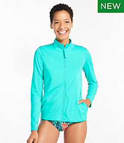 Salt Water Essentials Swimwear, Full-Zip Rashguard