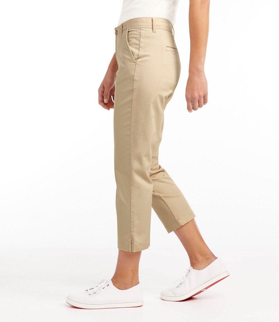 Women's Lakewashed Chino Pants, Cropped