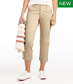Lakewashed Chino Pants, Cropped