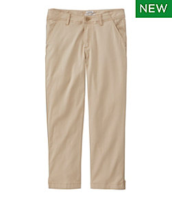 Women's Lakewashed Chino Pants, Cropped
