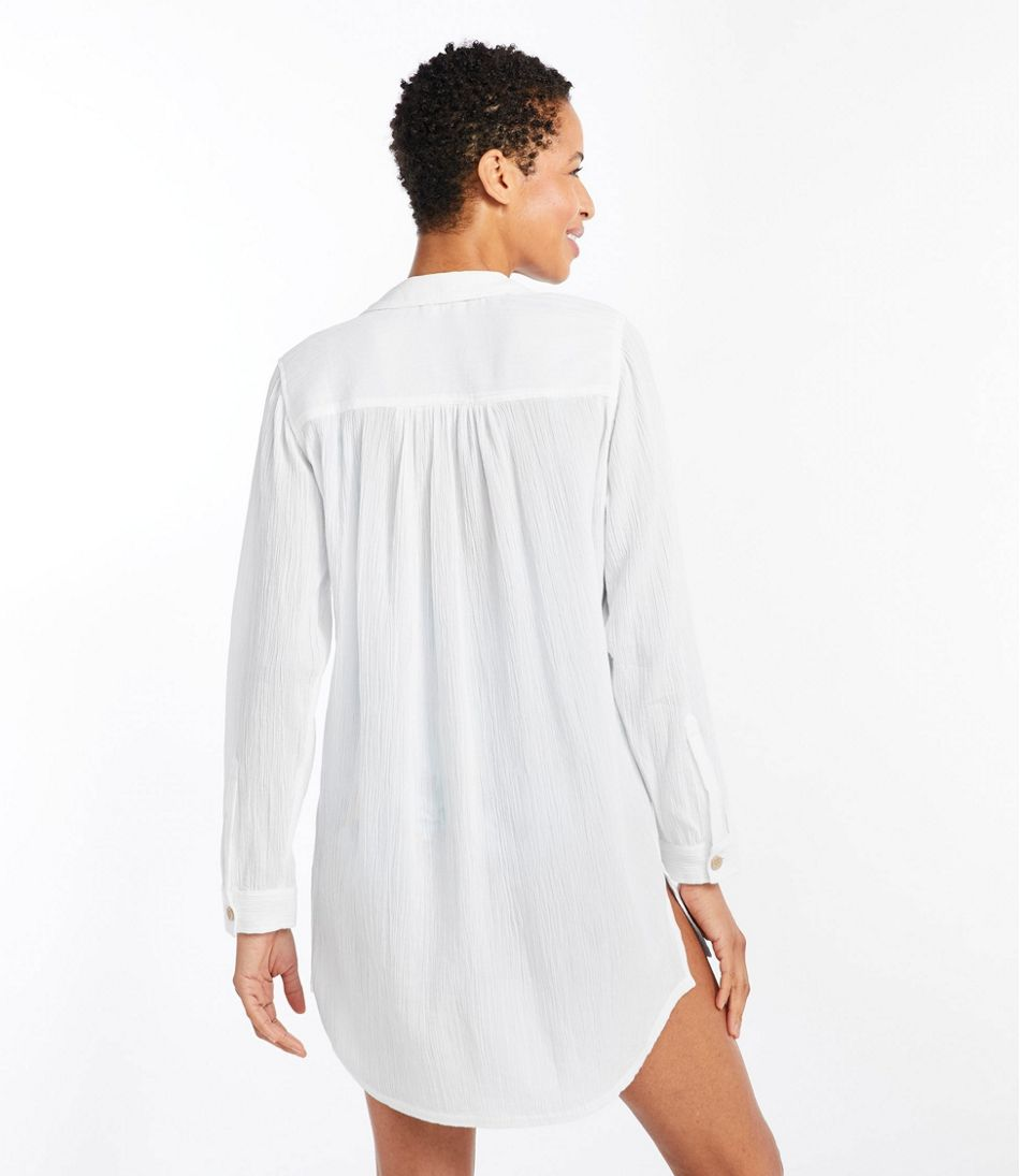 Women's Relaxed Caftan Cover-Up