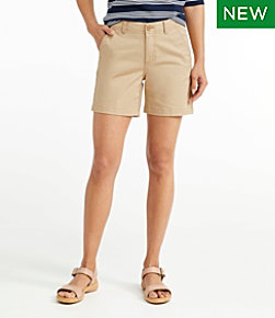 Women's Lakewashed Chino Shorts, 6""