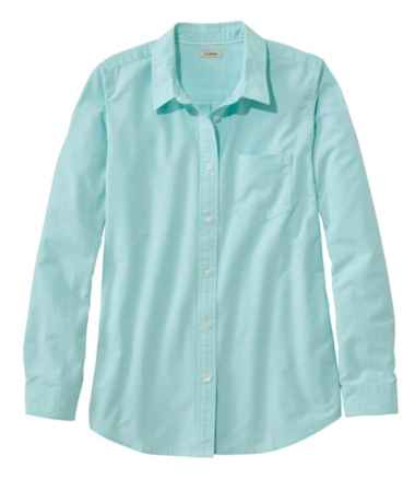 Lakewashed Organic Cotton Oxford Shirt, Relaxed