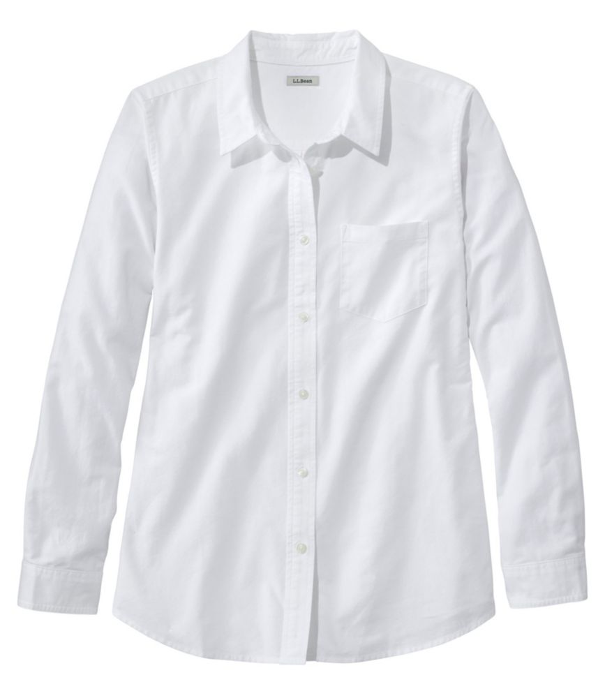Women's Lakewashed Organic Cotton Oxford Shirt