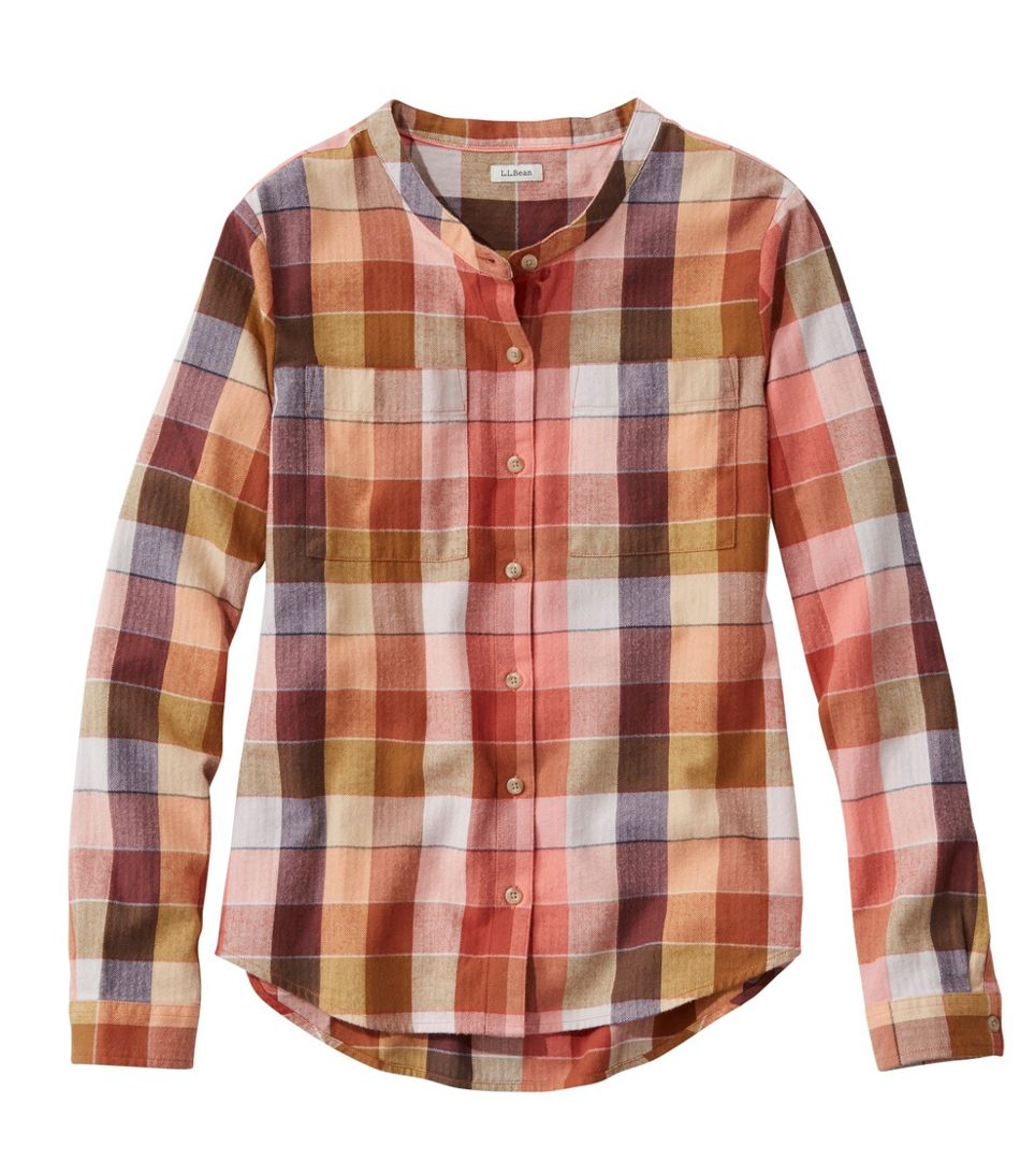 Organic Herringbone Flannel Shirt