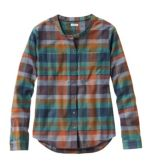 Organic Herringbone Flannel Shirt