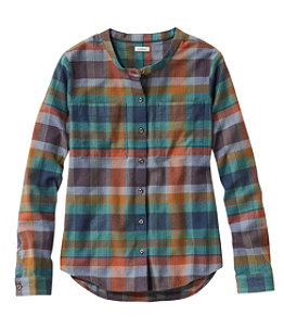 Women's Organic Herringbone Flannel Shirt