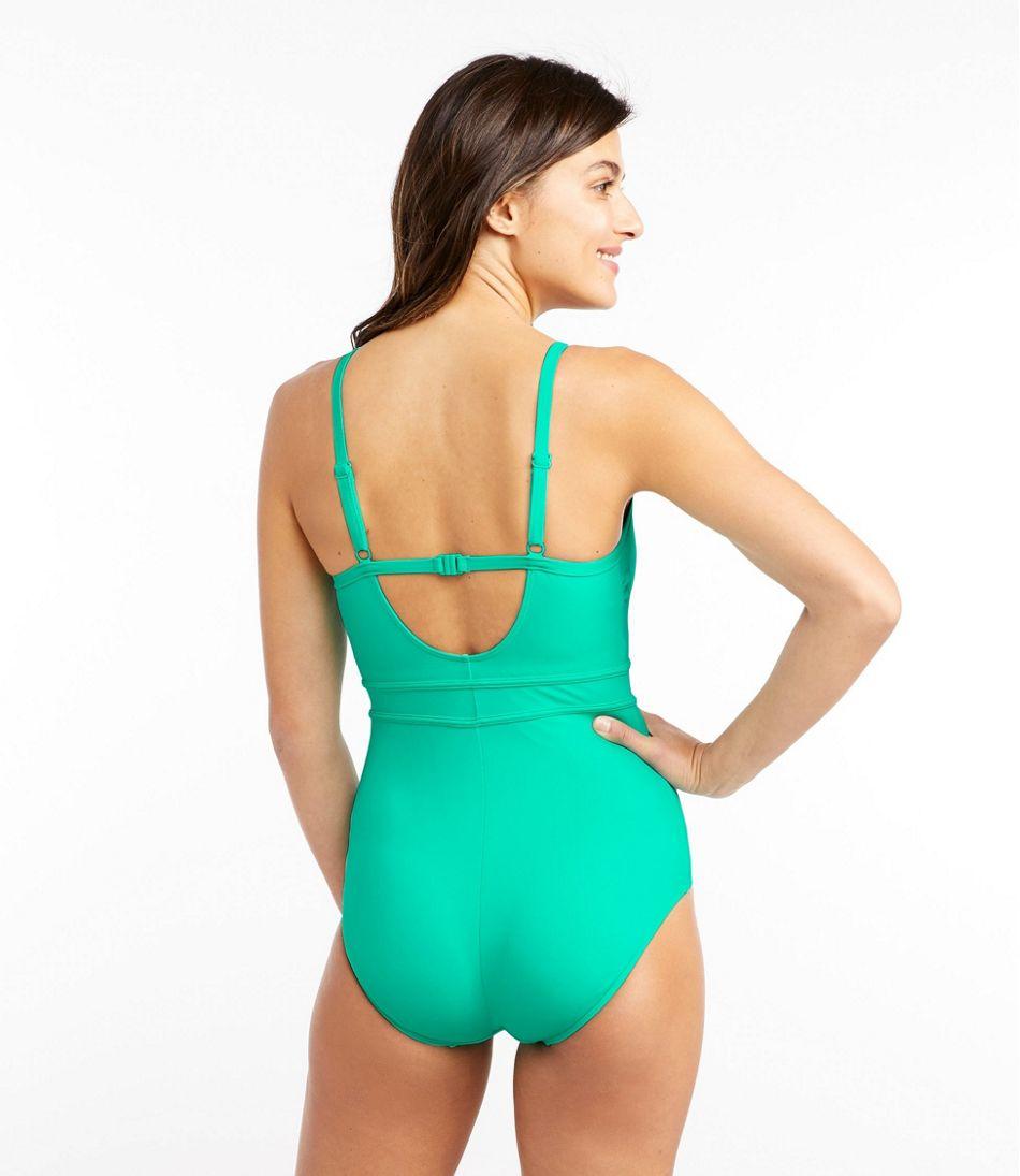 Women's Saltwater Essentials Swimwear, Scoopneck Tanksuit