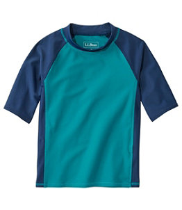 Kids' Sun-and-Surf Shirt, Short-Sleeve Colorblock