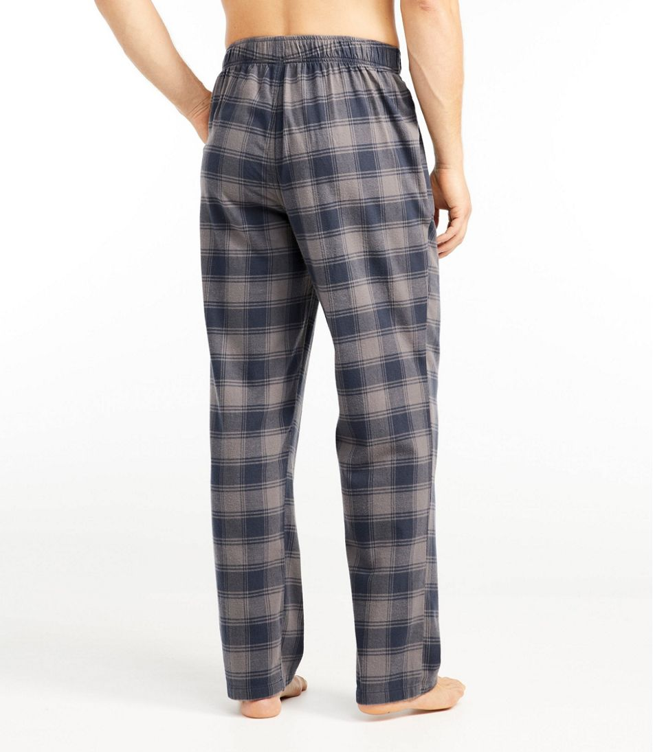 Men's Rangeley Organic Stretch Flannel Sleep Pants, Plaid