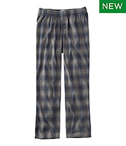 Rangeley Organic Stretch Flannel Sleep Pants, Plaid
