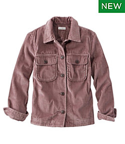 Signature Wide-Wale Shirt Jacket