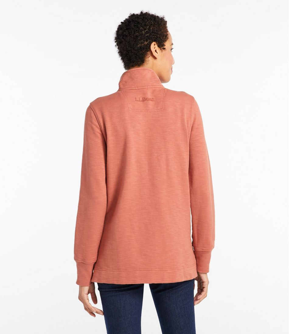 Women's Rocky Coast Sweatshirt, Snap Henley