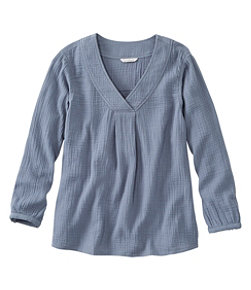 Women's Signature Gauzy Textured Shirt