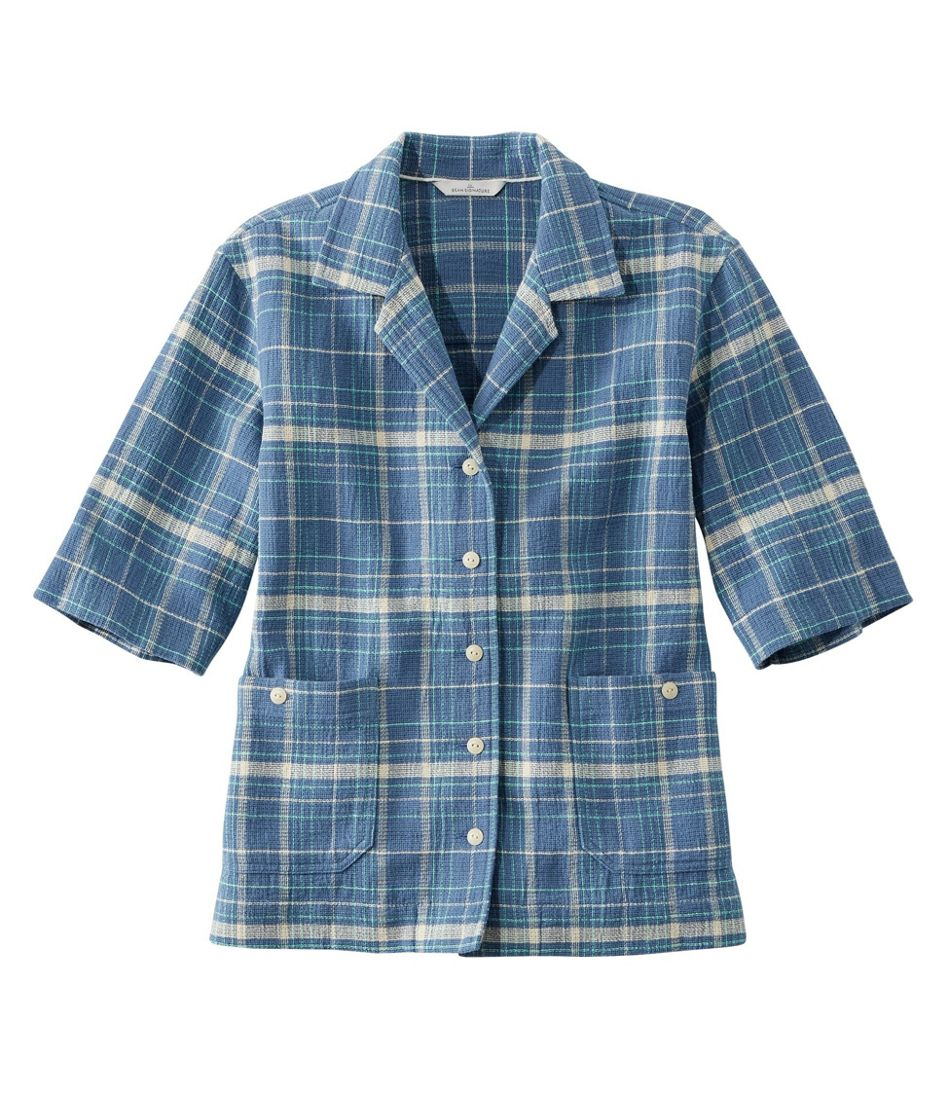 1940s Blouses and Tops Womens Signature Cool Weave Camp Shirt Pattern $34.99 AT vintagedancer.com