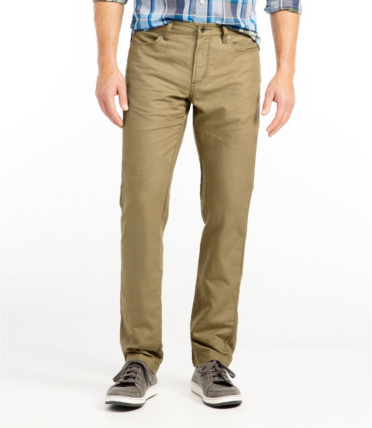 Men's Signature Linen/Cotton Five-Pocket Pants