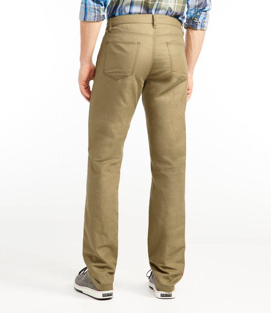 Men's Signature Linen/Cotton Five-Pocket Pants