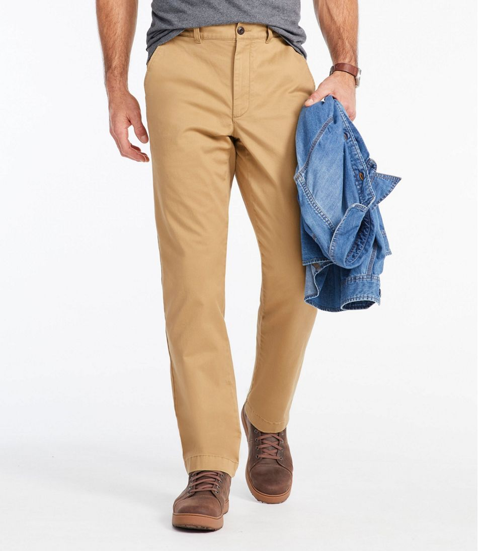 Men's Lakewashed® Stretch Khakis, Classic Fit