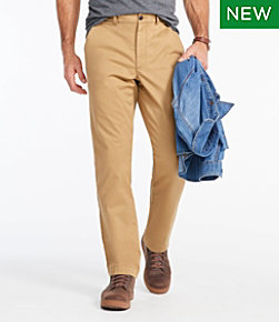 Lakewashed Stretch Khakis, Classic Fit