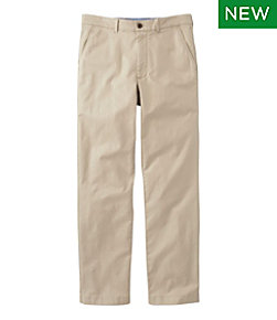 Men's Lakewashed Stretch Khakis, Classic Fit