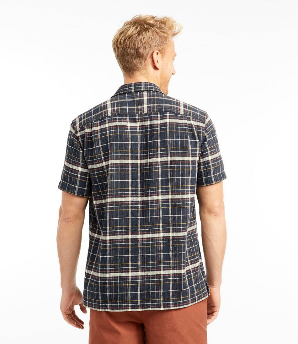 Men's Signature Cool Weave Camp Shirt