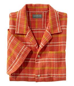 Men's Signature Cool Weave Camp Shirt Regular