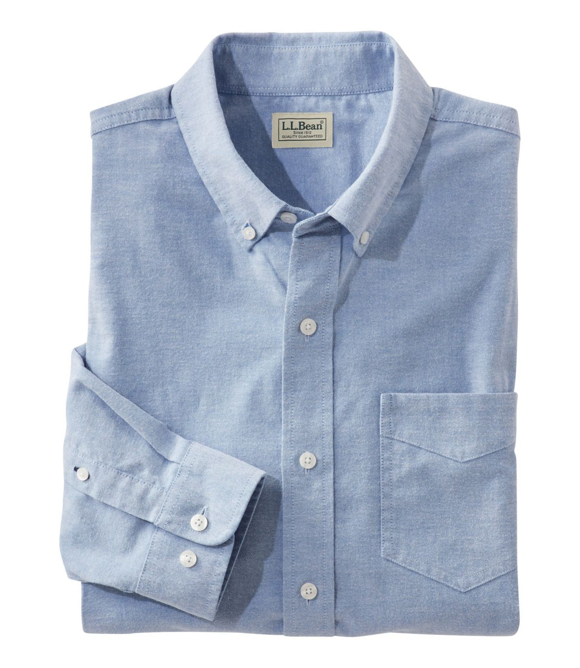 Men's Comfort Stretch Oxford Shirt, Slightly Fitted