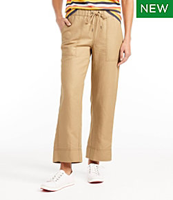 Women's Signature Linen Cotton Pull-On Camp Pants