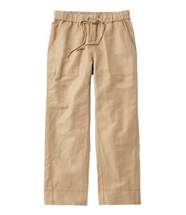 Women's Signature Linen Cotton Pull-On Camp Pants