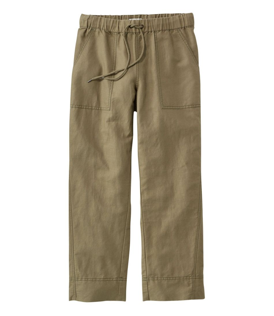Signature Linen/Cotton Pull-on Camp Pants