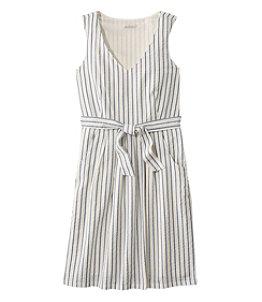 Women's Signature V-Neck Seersucker Dress