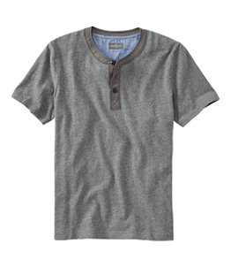 Men's Signature Slub Henley, Short-Sleeve Regular