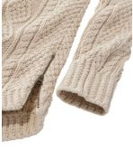 Women's Signature Cotton Fisherman Tunic Sweater, Fair Isle