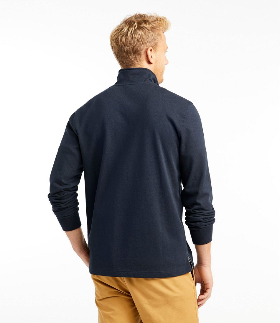 Signature Rugged Quarter-Zip Stand-Up Polo