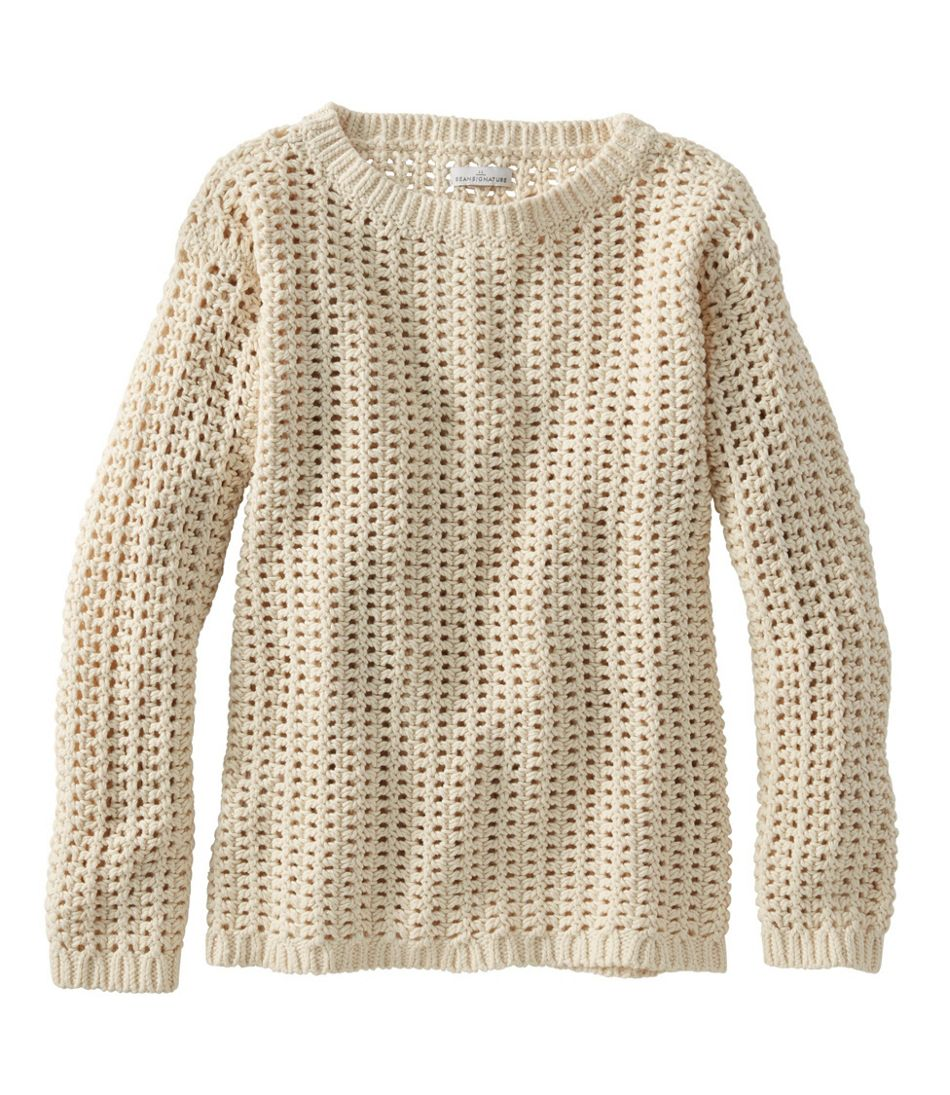 Women's Signature Bailey Island Cotton Sweater Misses Regular