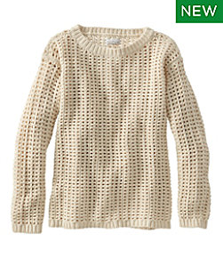 Signature Bailey Island Cotton Sweater