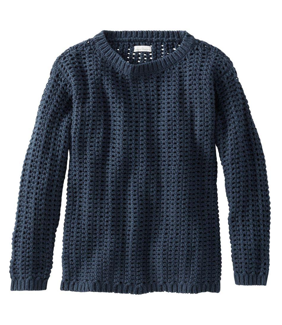 Signature Bailey Island Cotton Sweater