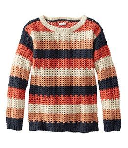 Women's Signature Bailey Island Cotton Sweater Stripe