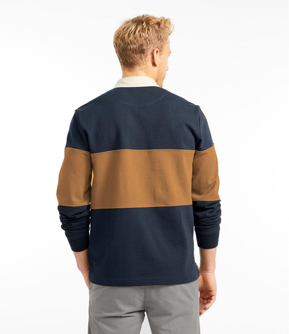 Men's Signature Classic Rugby, Long-Sleeve Stripe