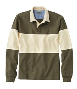 Men's Signature Classic Rugby, Long-Sleeve, Stripe