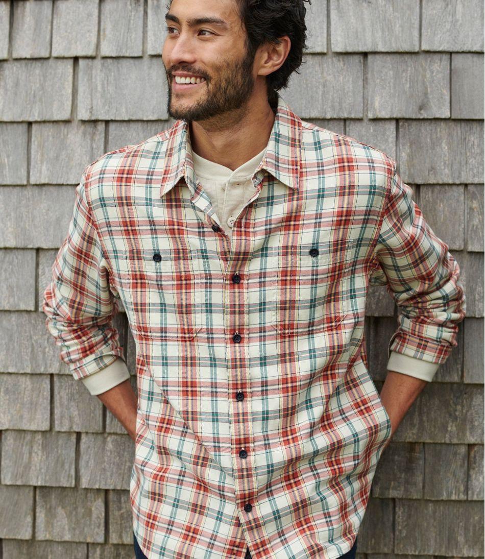 Lakewashed Twill Shirt, Traditional Fit, Plaid