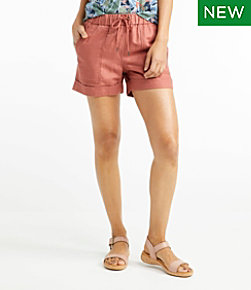 Women's Signature Linen/Cotton Pull On Shorts