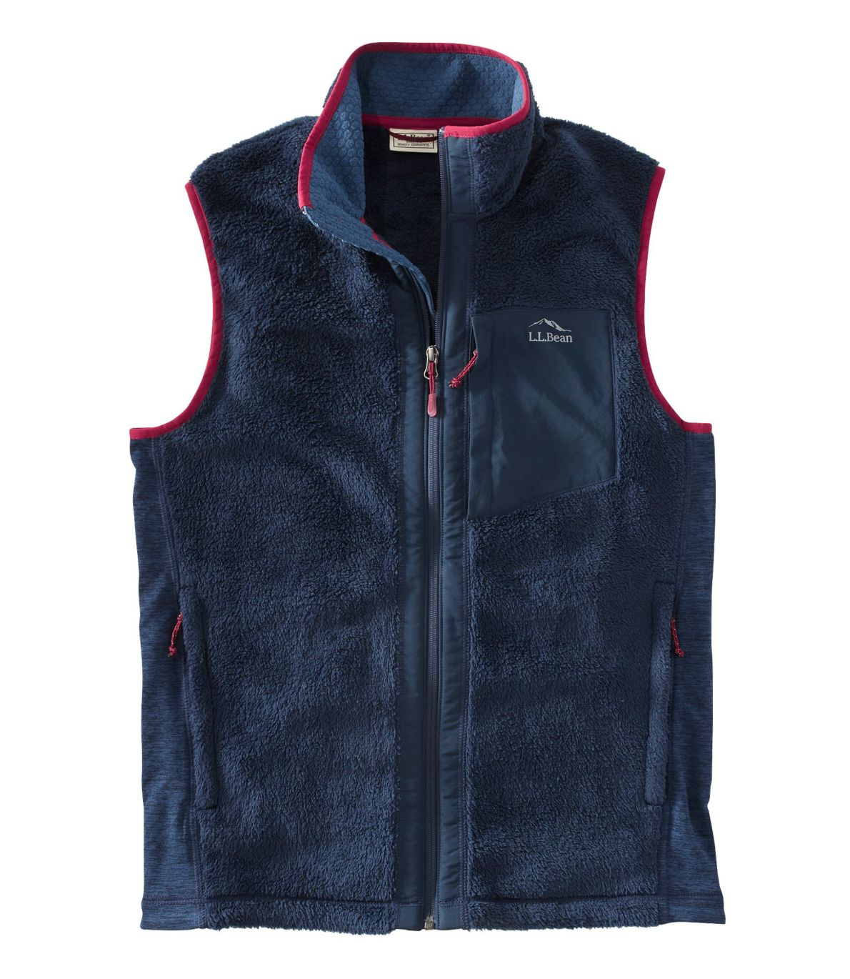 Men's Adventure Hybrid Fleece Vest