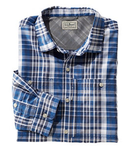 Men's Cool Weave Shirt, Long-Sleeve